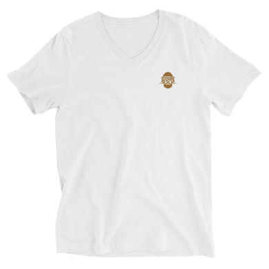 RR Logo Unisex Short Sleeve V-Neck T-Shirt