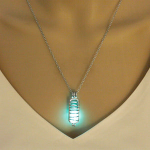NEW! - Glow in the Dark Mitochondria Necklace - Gifted Guppy