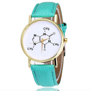 Caffeine Molecule Quartz Movement Ladies' Watch - Gifted Guppy