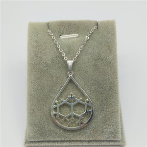 Geosmin Molecule Necklace - The Scent Of Rain