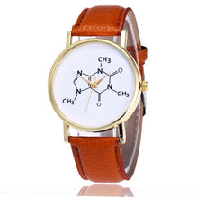 Load image into Gallery viewer, Caffeine Molecule Quartz Movement Ladies' Watch - Gifted Guppy