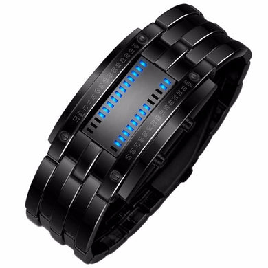 Binary Digital LED Watch (Men's & Women's styles) - Gifted Guppy