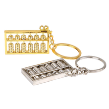 Load image into Gallery viewer, Stainless Steel Abacus Keyring - Gifted Guppy