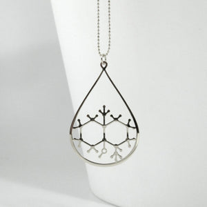 Geosmin Molecule Necklace - The Scent Of Rain - Gifted Guppy