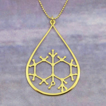 Load image into Gallery viewer, Geosmin Molecule Necklace - The Scent Of Rain - Gifted Guppy