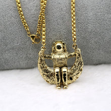 Load image into Gallery viewer, Astronaut On The Moon Necklace - Gifted Guppy