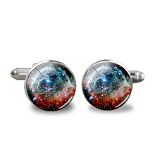 Load image into Gallery viewer, Nebula Cufflinks - Gifted Guppy