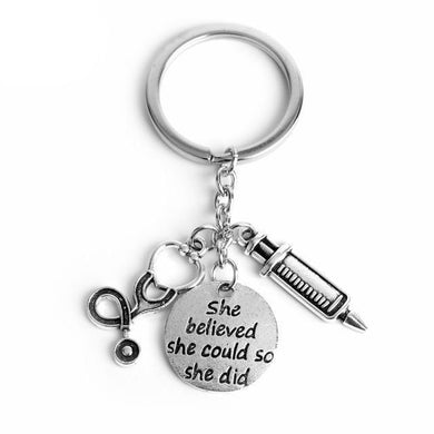 Nursing/Medical Student Keychain - Gifted Guppy