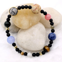 Load image into Gallery viewer, Natural Stone Solar System Bracelet - Gifted Guppy