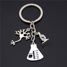 Load image into Gallery viewer, Science Charms Keyring - Gifted Guppy