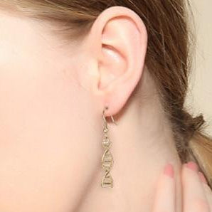 DNA Double Helix Earrings - Gifted Guppy
