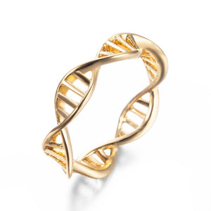 Stainless Steel DNA Ring - Gifted Guppy
