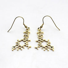Load image into Gallery viewer, Oxytocin Molecule Earrings - Gifted Guppy