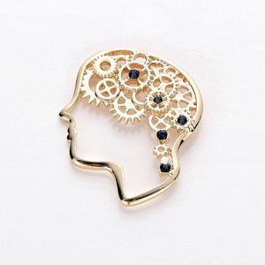 Head Gear Brooch - Gifted Guppy