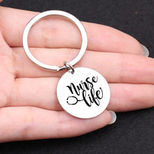 Load image into Gallery viewer, Nurse Life Keychain