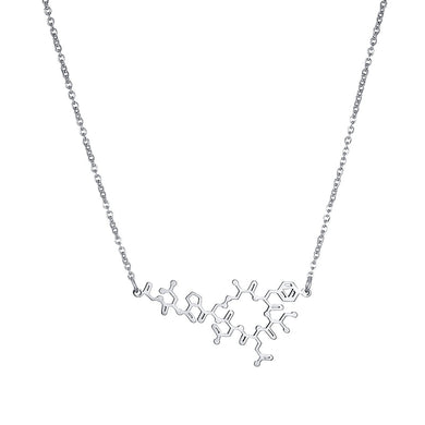 Oxytocin Molecule Necklace - Gifted Guppy