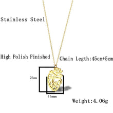Load image into Gallery viewer, Stainless Steel Anatomical Heart Necklace - Gifted Guppy