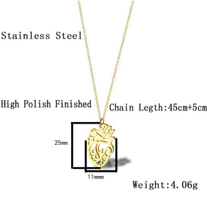 Stainless Steel Anatomical Heart Necklace - Gifted Guppy