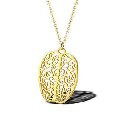 Extra Little Brain Necklace - Gifted Guppy
