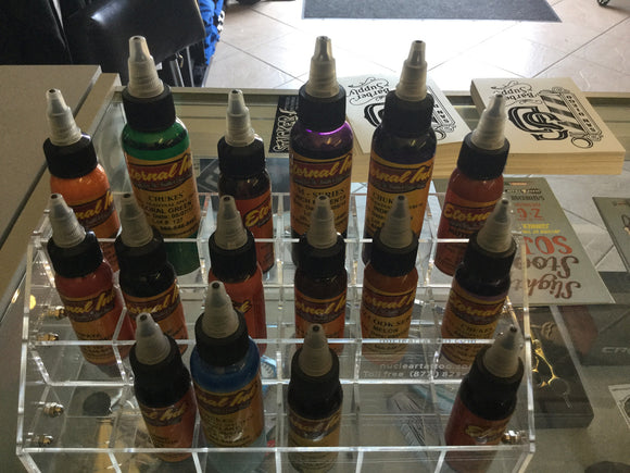 Nuclear Ink Rack Display