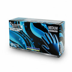 Adeena Phantom Black Latex Gloves