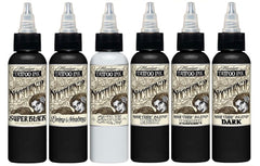 Nocturnal Ink Set of 6. 1oz.