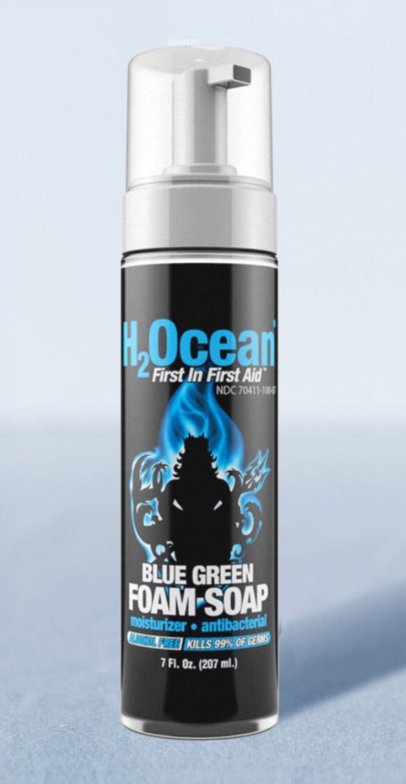 H2ocean 7oz. Blue Green Foam Soap