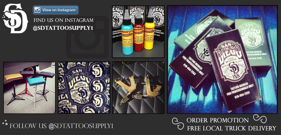 SD Tattoo Supply — San Diego Tattoo Supply - For Professionals Only