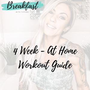 4 Week at home workout with ZOOM meetings