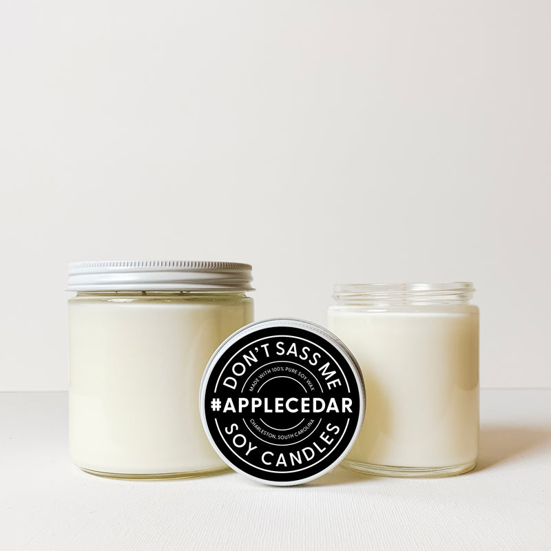 APPLE CEDAR Soy Candle