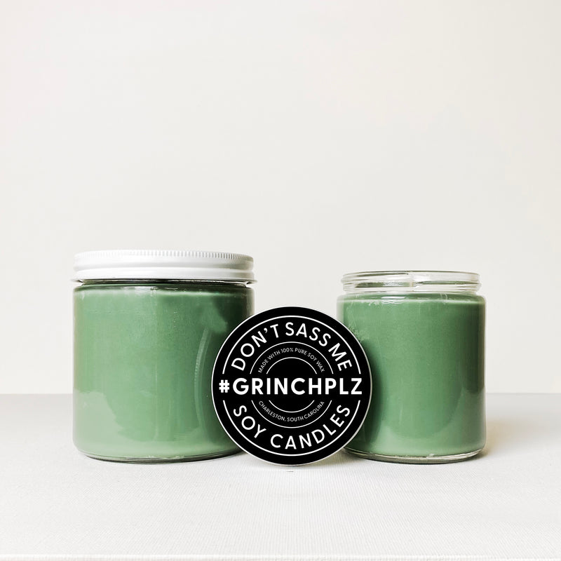GRINCH PLZ Soy Candle