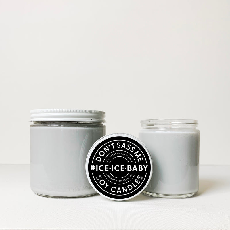 ICE ICE BABY Soy Candle