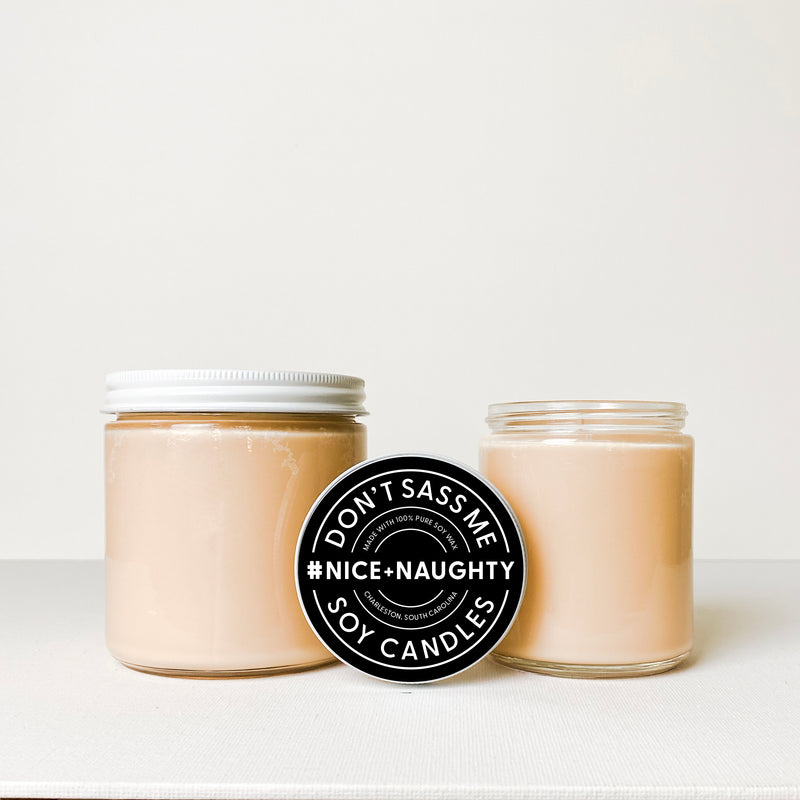 NICE + NAUGHTY Soy Candle