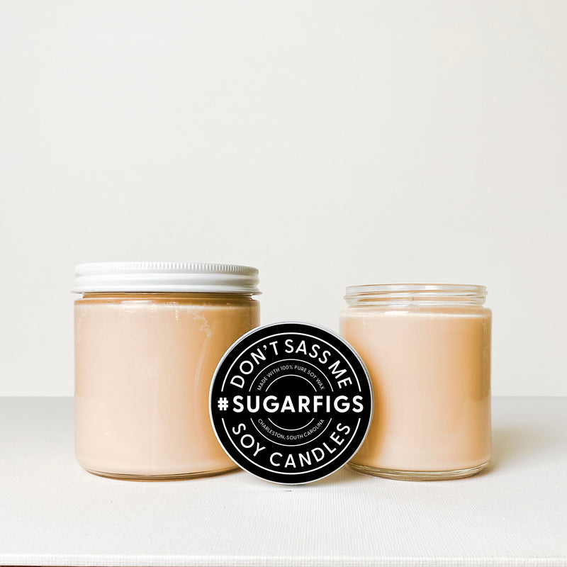 SUGAR FIGS Soy Candle