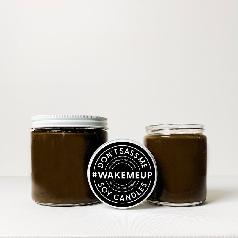 WAKE ME UP Soy Candle