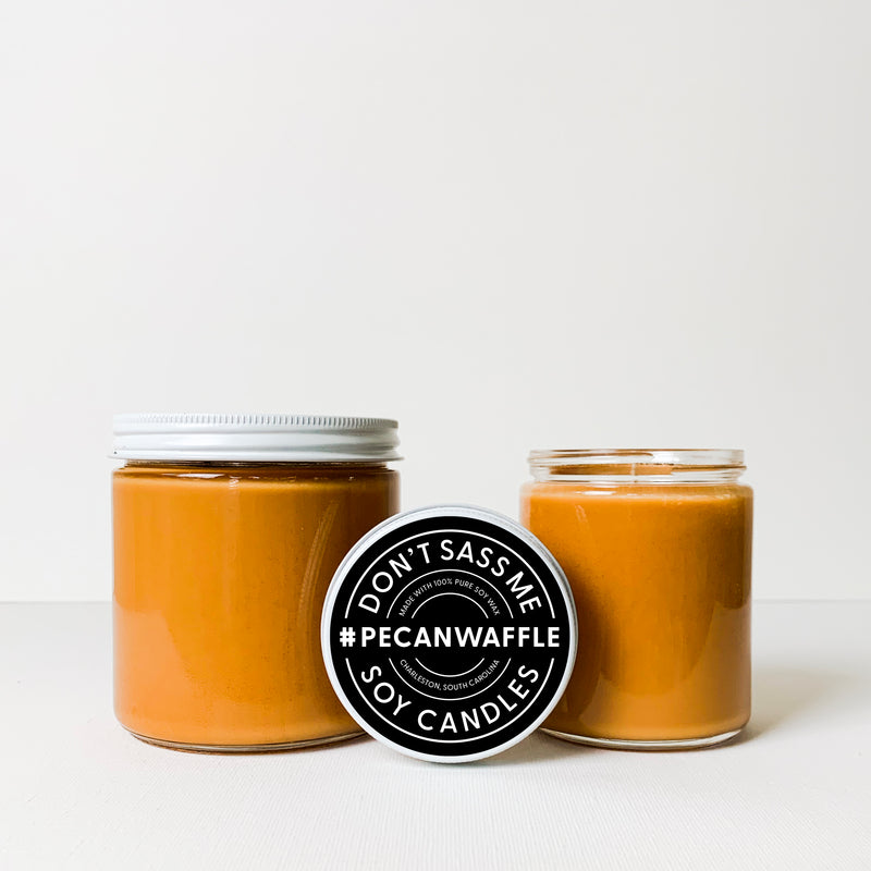 PECAN WAFFLE Soy Candle