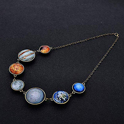 Sol System necklace, Planetary Collection