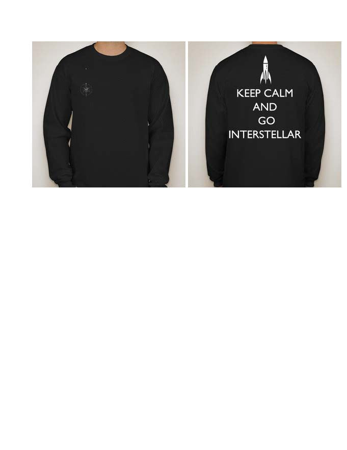 Keep Calm and Go Interstellar Long Sleeve Shirt