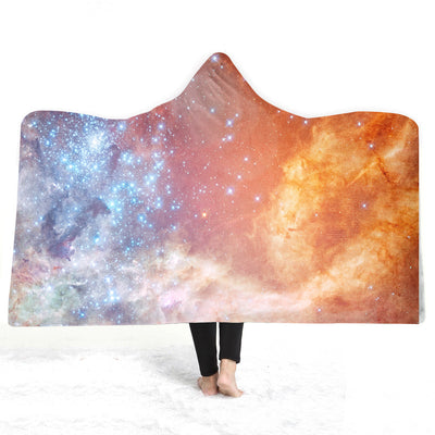 Cosmic Hooded Blanket