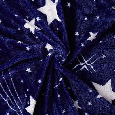 Starry Throw/ Blanket- Wrap yourself in cosmically soft comfort with this stellar throw!