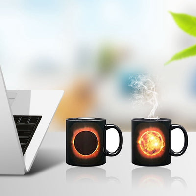 Solar Eclipse & Lunar Eclipse Color Changing Mugs