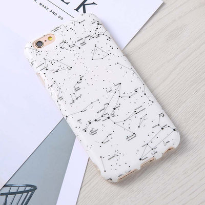 Starry Sky Constellation Pattern Phone Cases For iphone 7 6 6S Plus