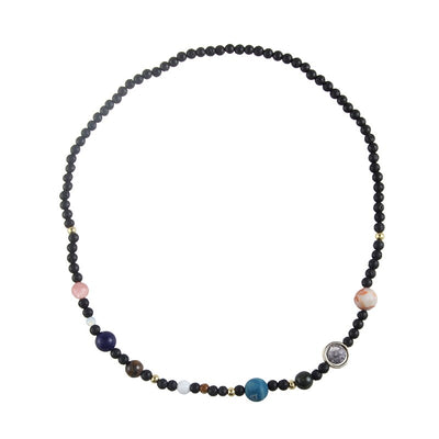 Eight Planets Necklace- Perfect for MOST interplanetary travelers.