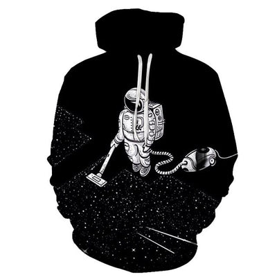 Cosmic Housekeeping- 3D Hoodie for all!