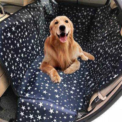Cosmic Dog Back Seat Waterproof Car Protector