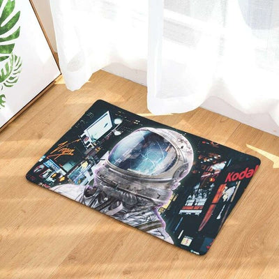 Astronaut Space Mat- A place for your space boots! Anti-skid, door mat