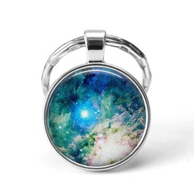 Galactic Pendant Key Chains From Nebulas to Anomalies- your key to the universe!