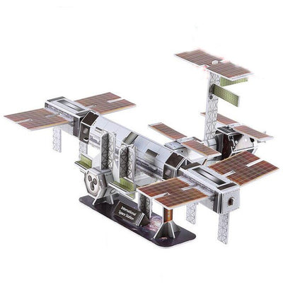 3D Paper Puzzles- Apollo, Discovery, ISS, Curiosity, Solar System, & Saturn V