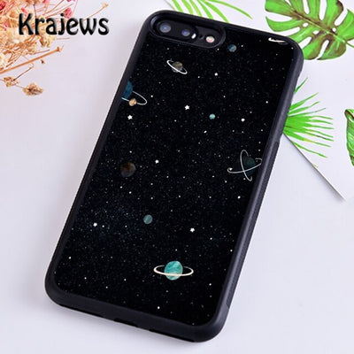 Starry Night space constellations stars Phone Case For iPhone 5 SE 6s 7 8 plus 11 12 pro X XR XS max Galaxy S8 S9 S10
