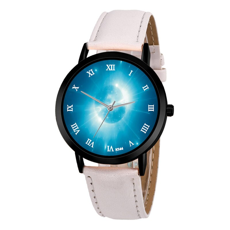 Time Keeps on Slippin' Light Quartz Watch, Unisex Classy Creative Analog Anomaly